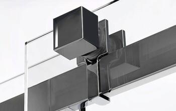 Набор роликов с декоративной накладкой квадратной формы